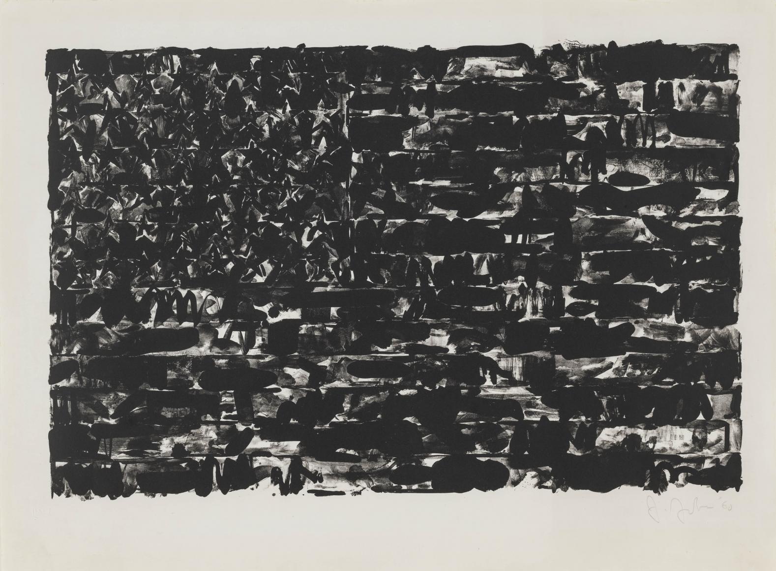 Jasper Johns - Artworks - Susan Sheehan Gallery