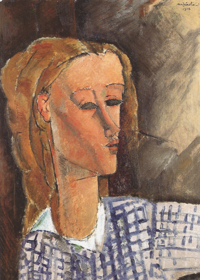 Amedeo Modigliani, Beatrice Hastings, 1916, Oil on canvas, 25.5 x 18 1/8 in (64.9 x 45.9 cm), John C. Whitehead Collection, until 2015