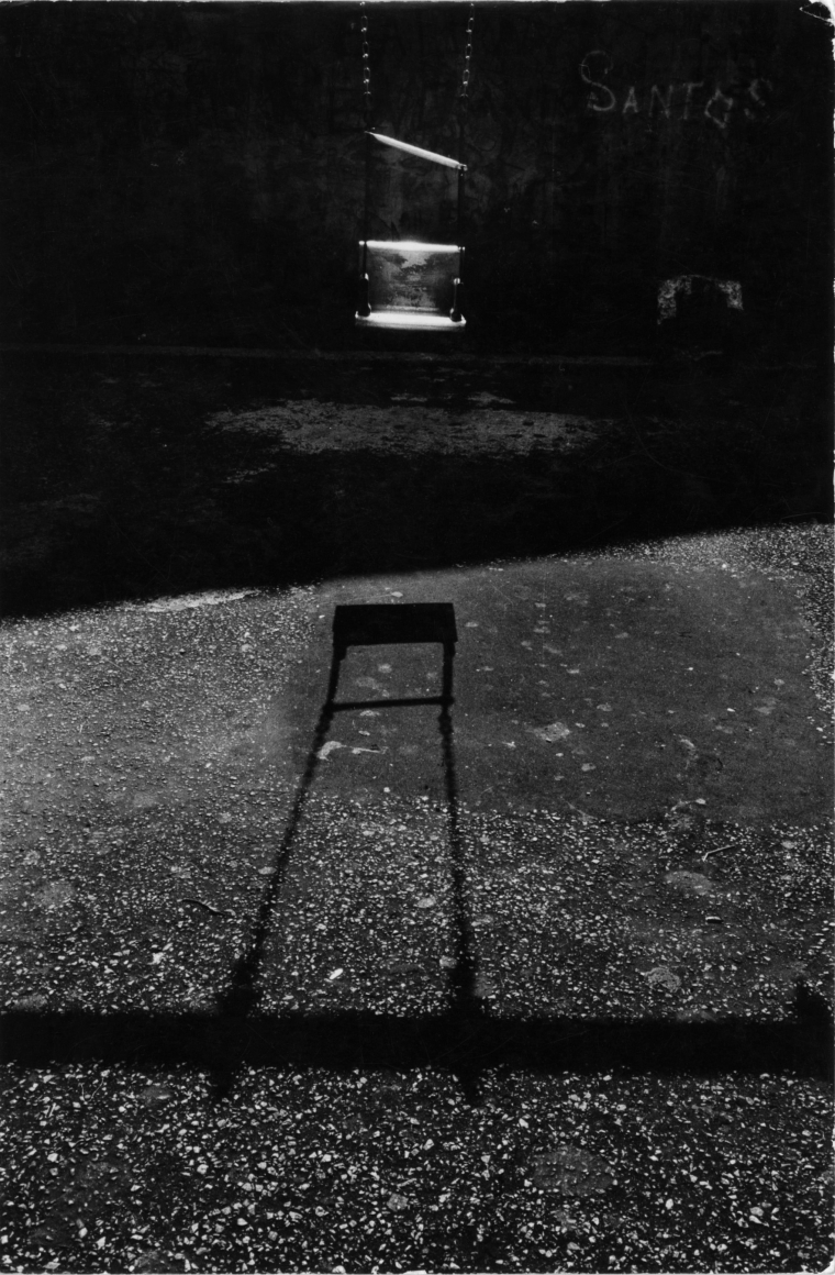 Untitled (Swing and Shadow), New York, 1967, Gelatin silver print, printed c. 1967