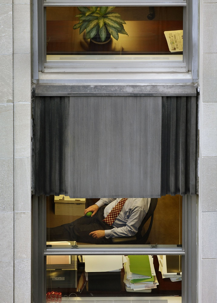 Michael Wolf, Transparent City #31, 2007