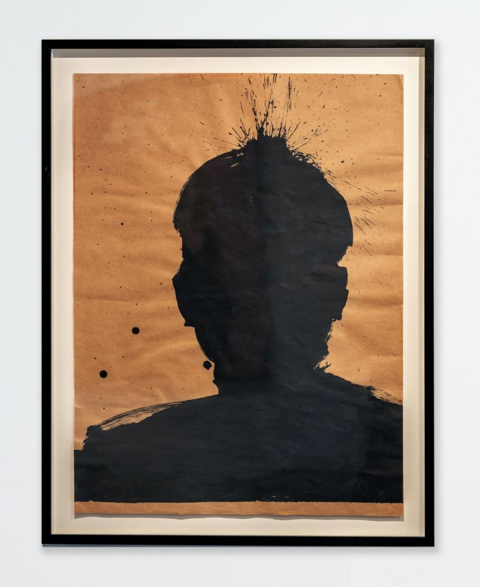 Richard Hambleton Untitled (Shadow Head), 2003