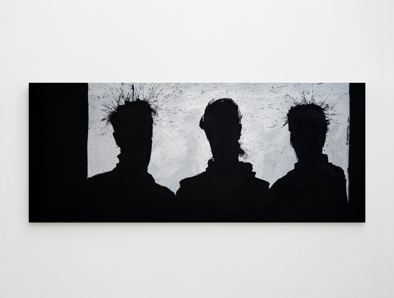 RIchard Hambleton Three Shadow Figures, 2001