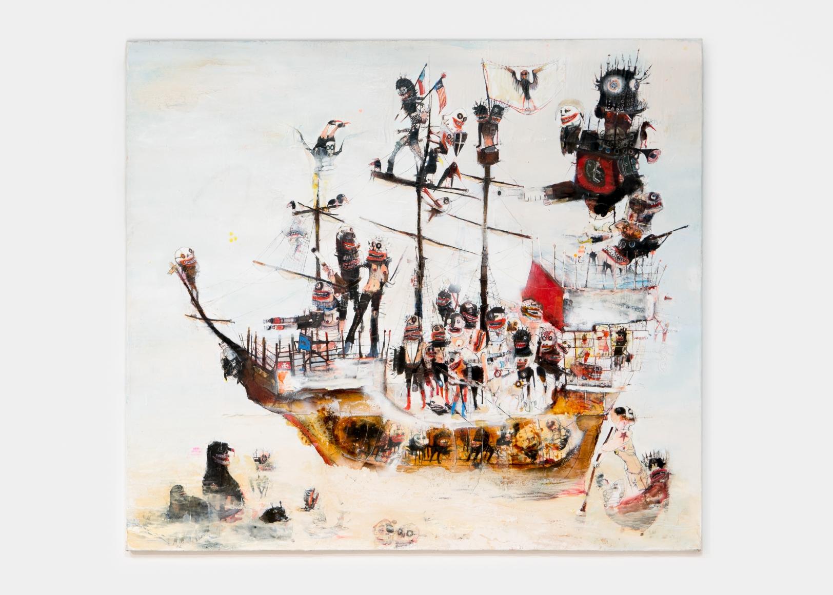 A Badly Crewed Ship, 2018