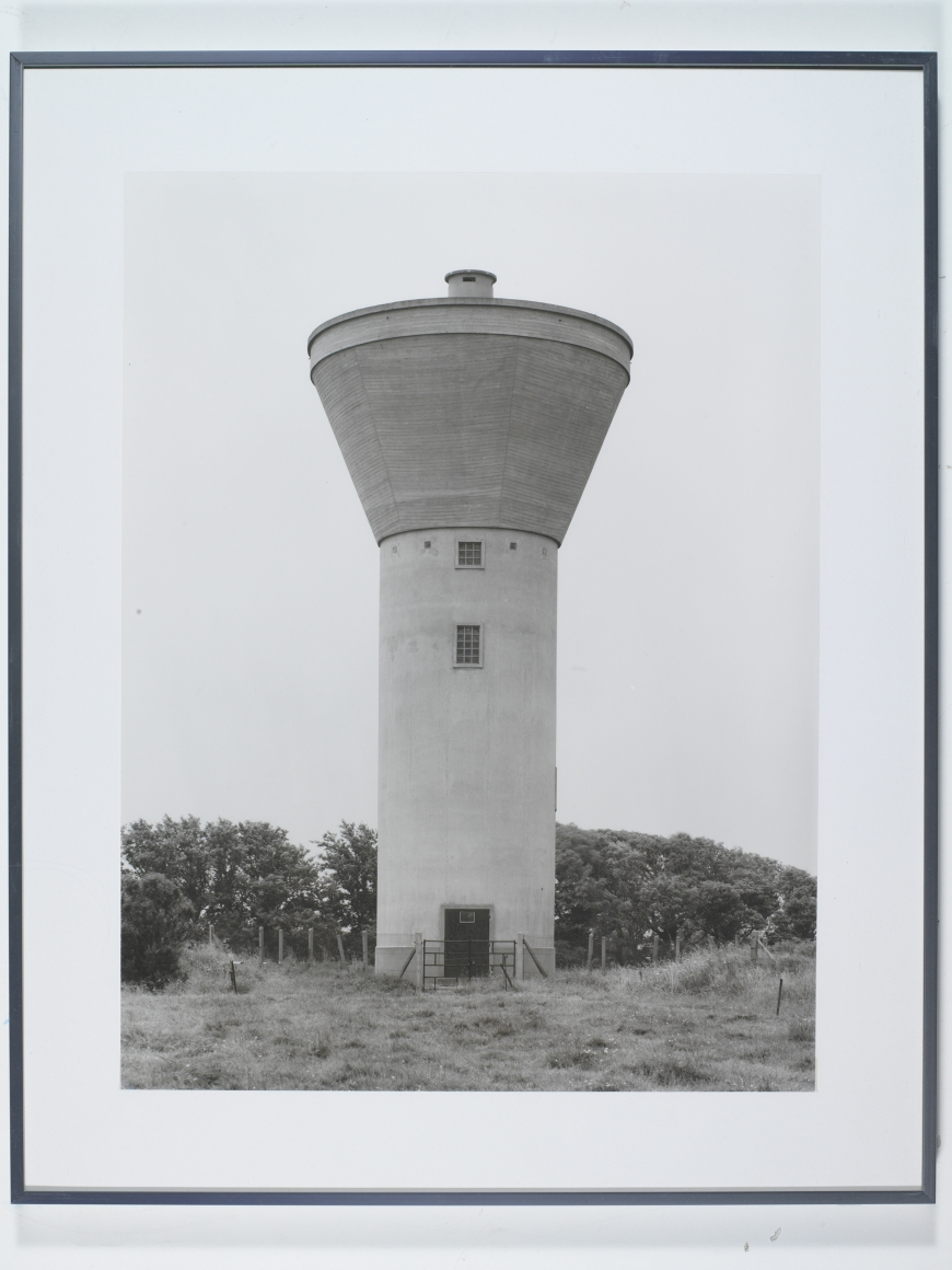 Bernd and Hilla Becher, Typology with Four Water Towers, 1963