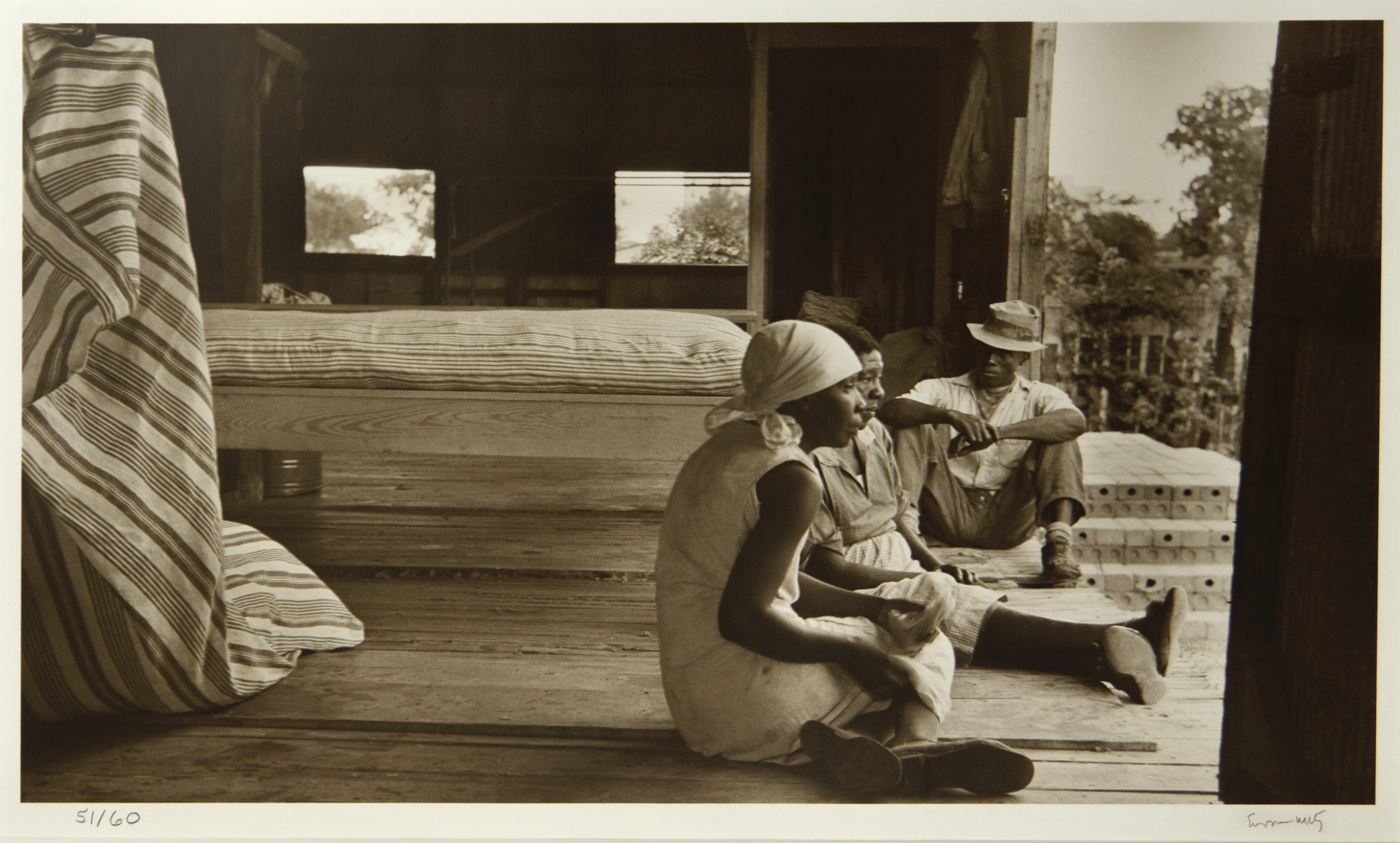 Eudora Welty, The Mattress Factory, Jackson, Miss., c. 1930