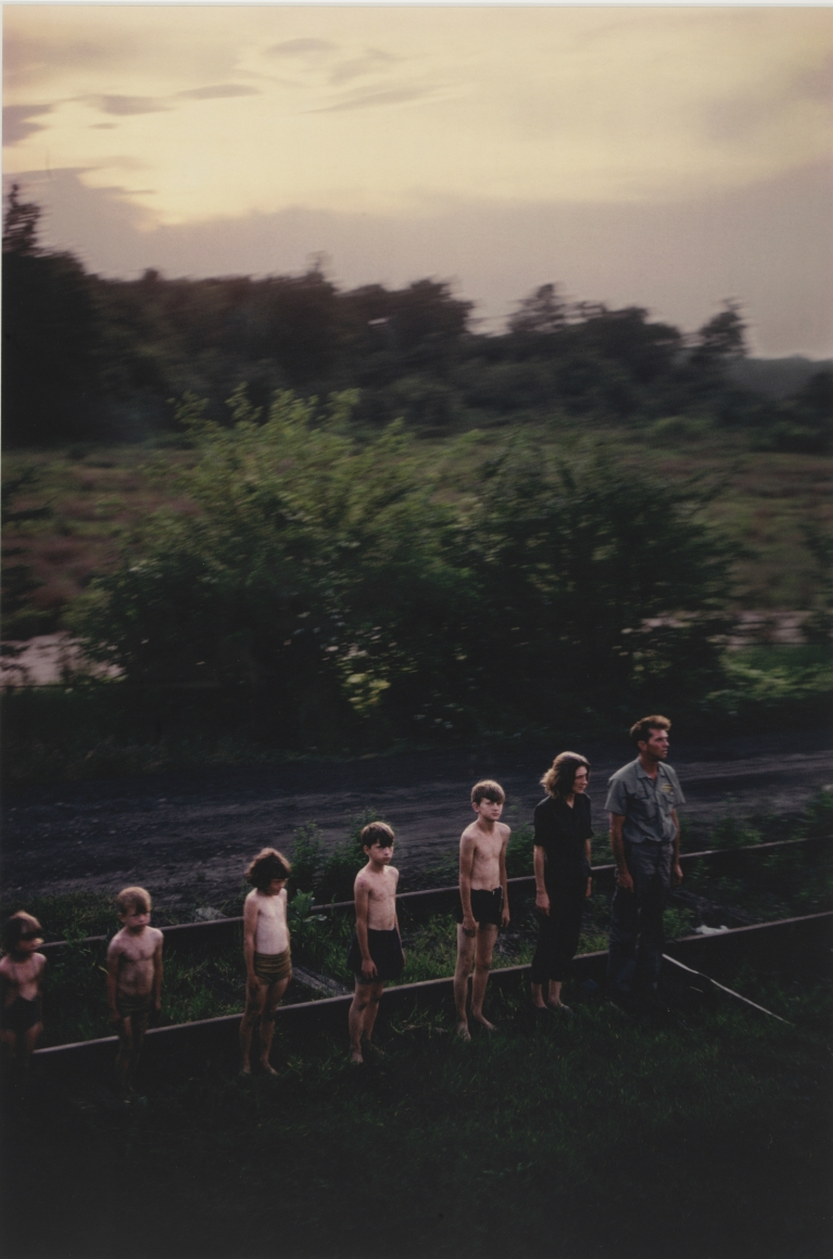 Paul Fusco, #121, RFK Funeral Train, 1968