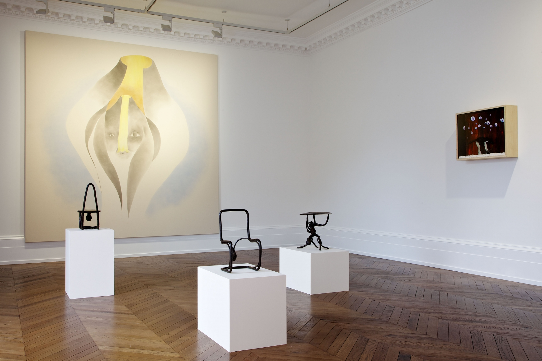 ENRICO DAVID New Works 17 September through 16 November 2013 MAYFAIR, LONDON, Installation View 5