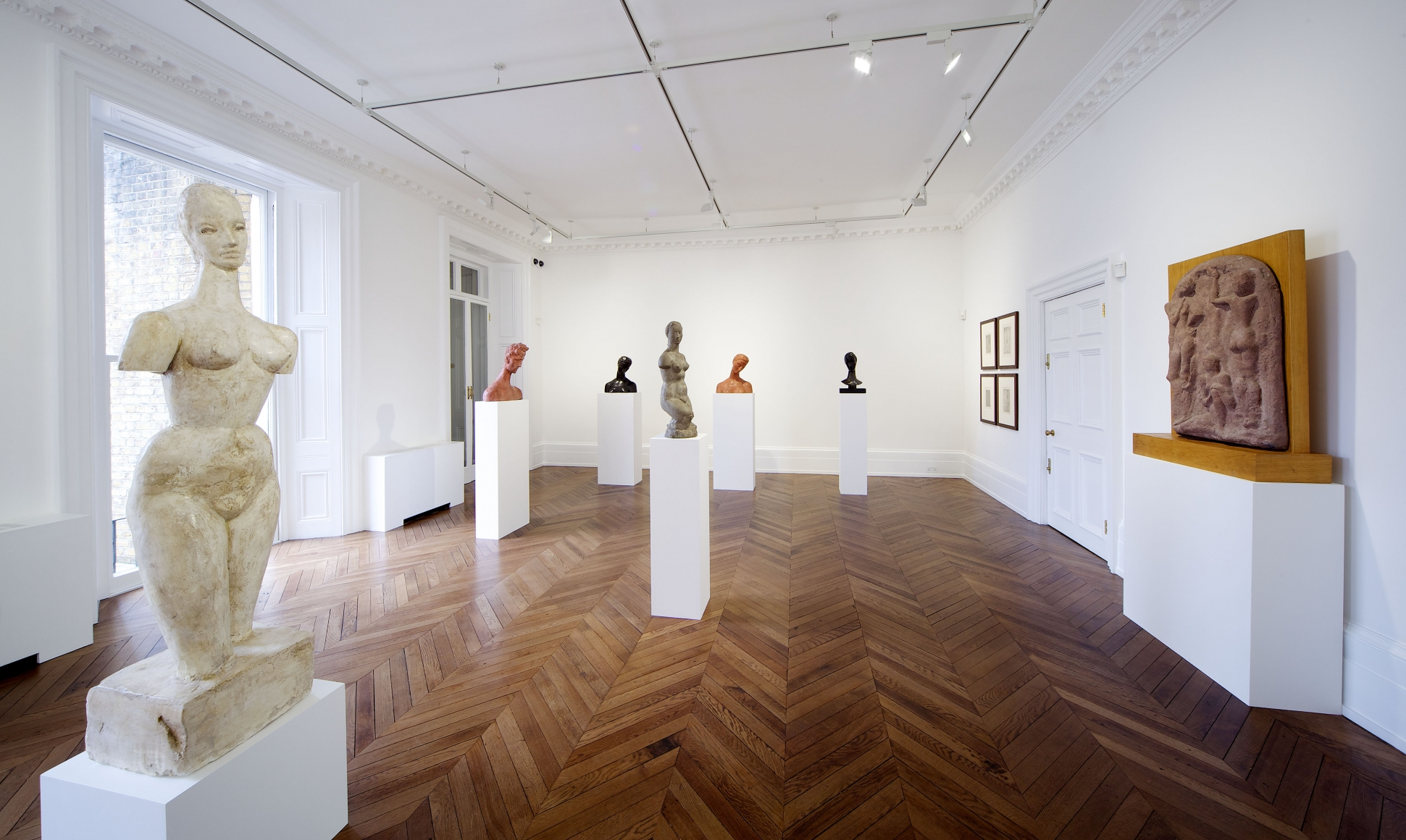 WILHELM LEHMBRUCK Sculpture and Works on Paper 21 March through 25 May 2013 MAYFAIR, LONDON, Installation View 10