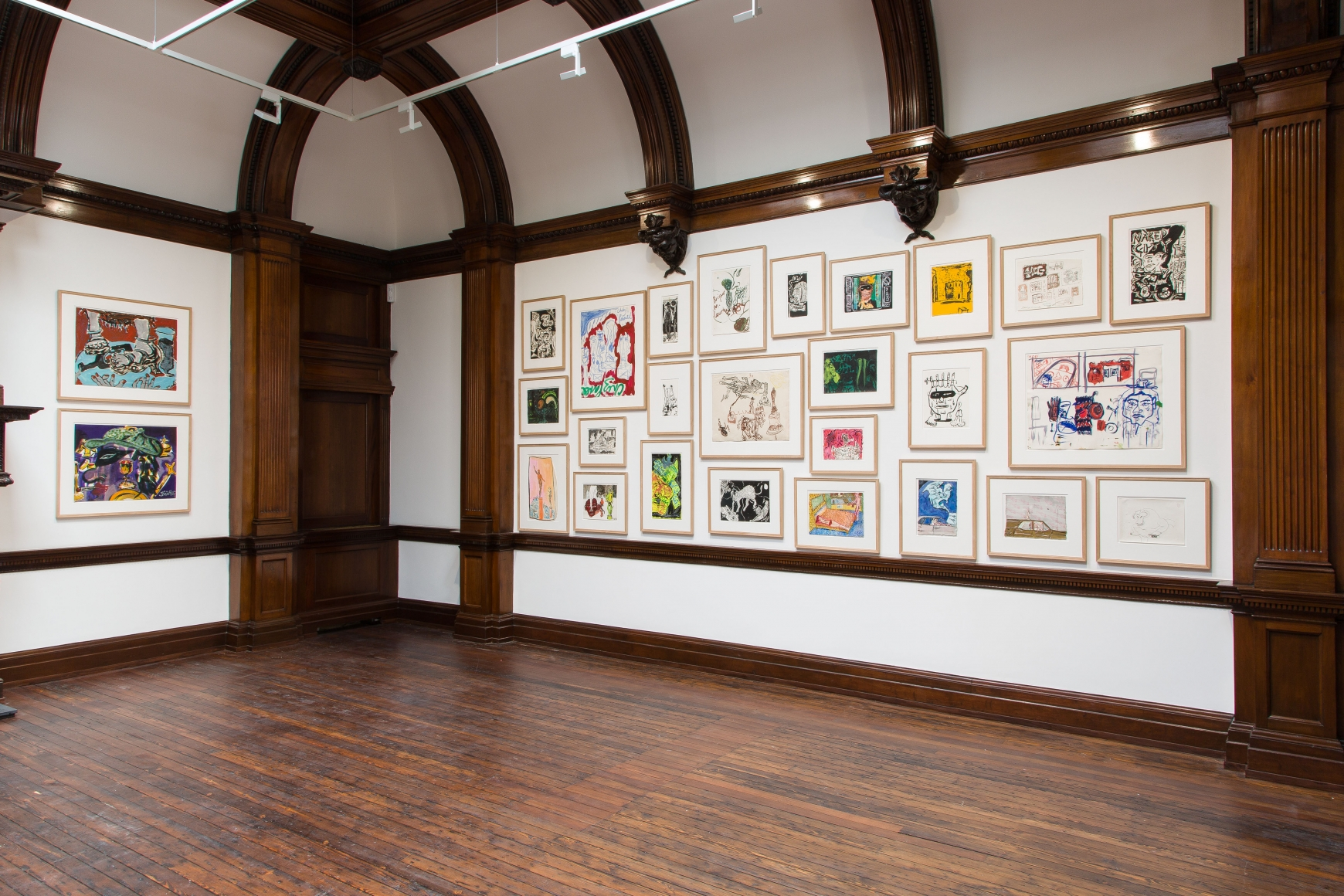 Peter Doig, Early Works, London, 2014, Installation Image 11