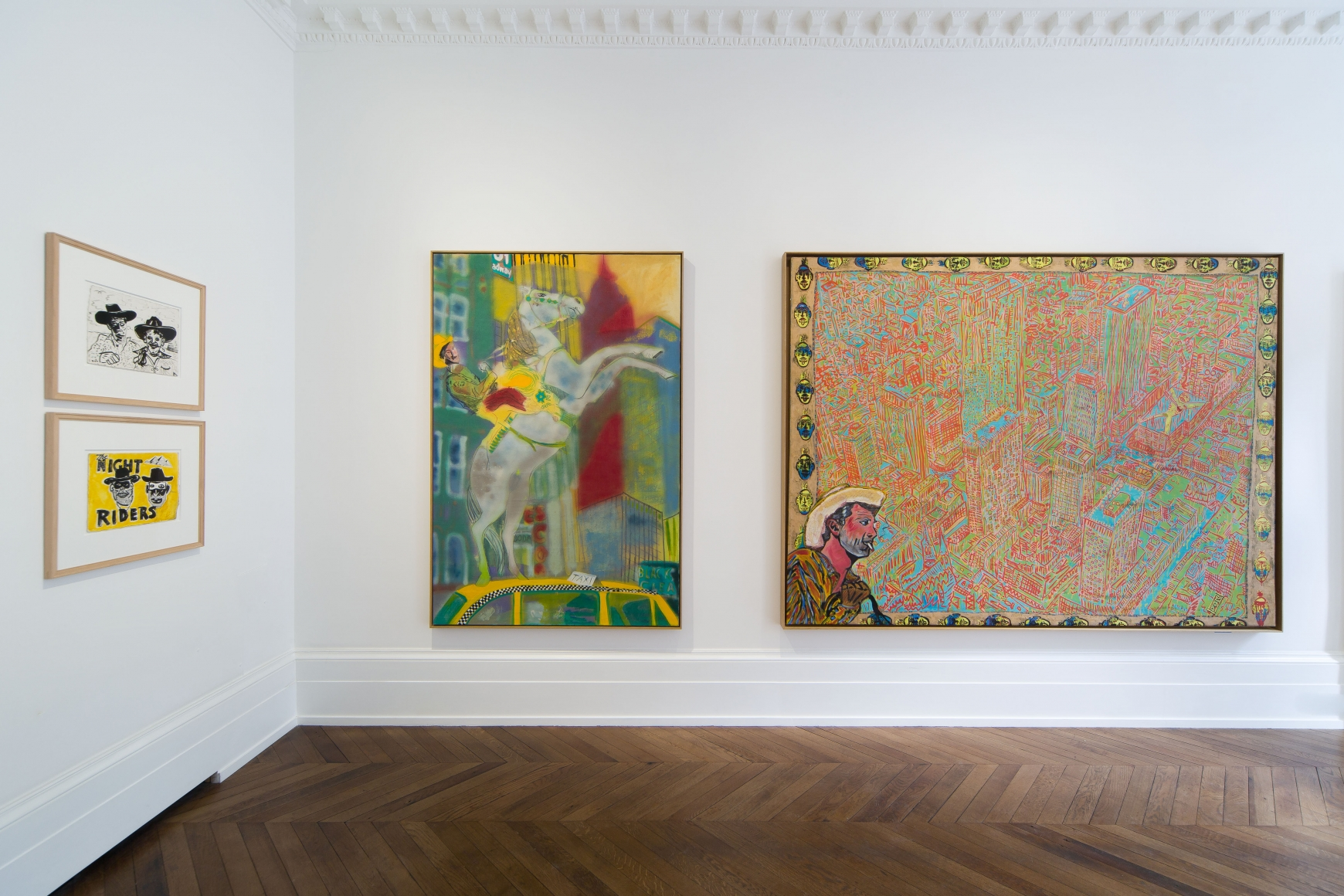 Peter Doig, Early Works, London, 2014, Installation Image 4