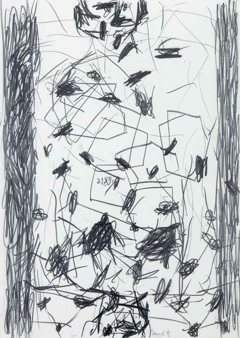 """""""Untitled"""", 1991 Pencil on paper"""