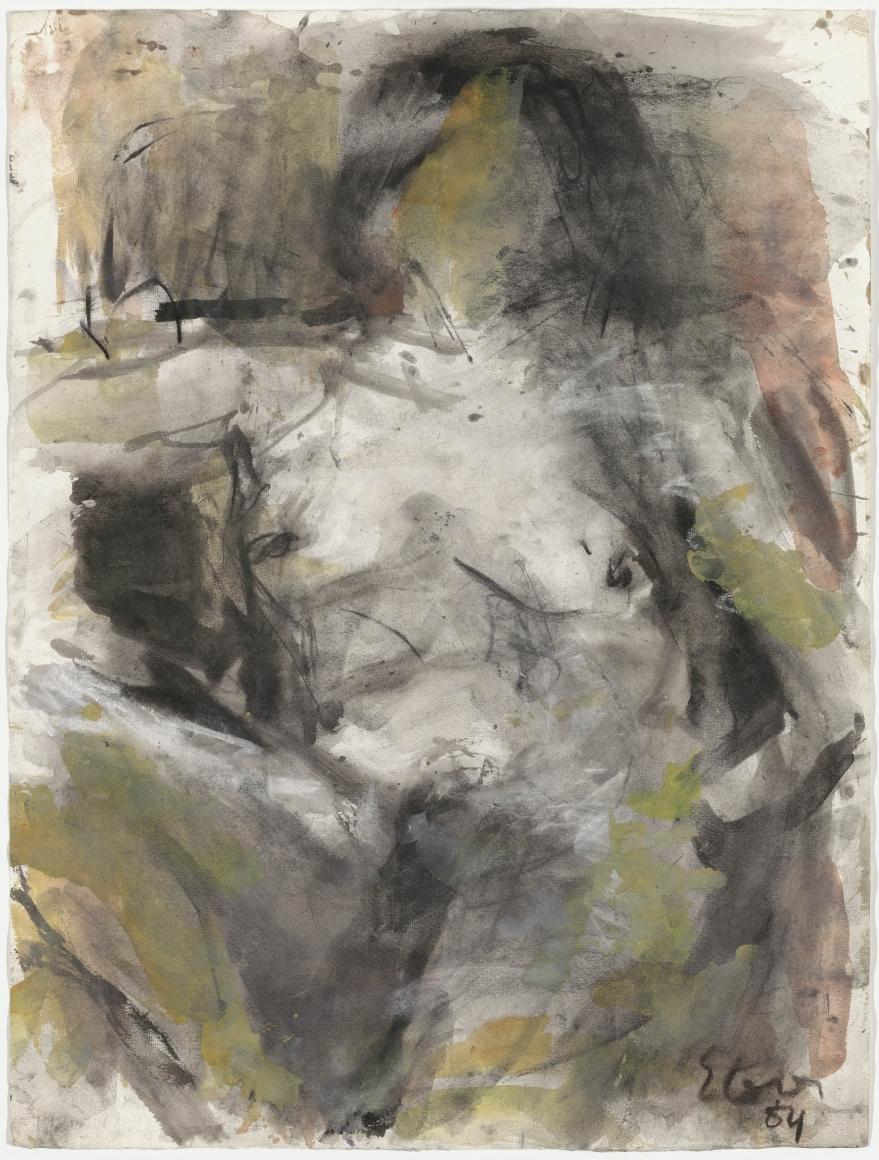 "Eugène Leroy, ""Untitled"", 1984"