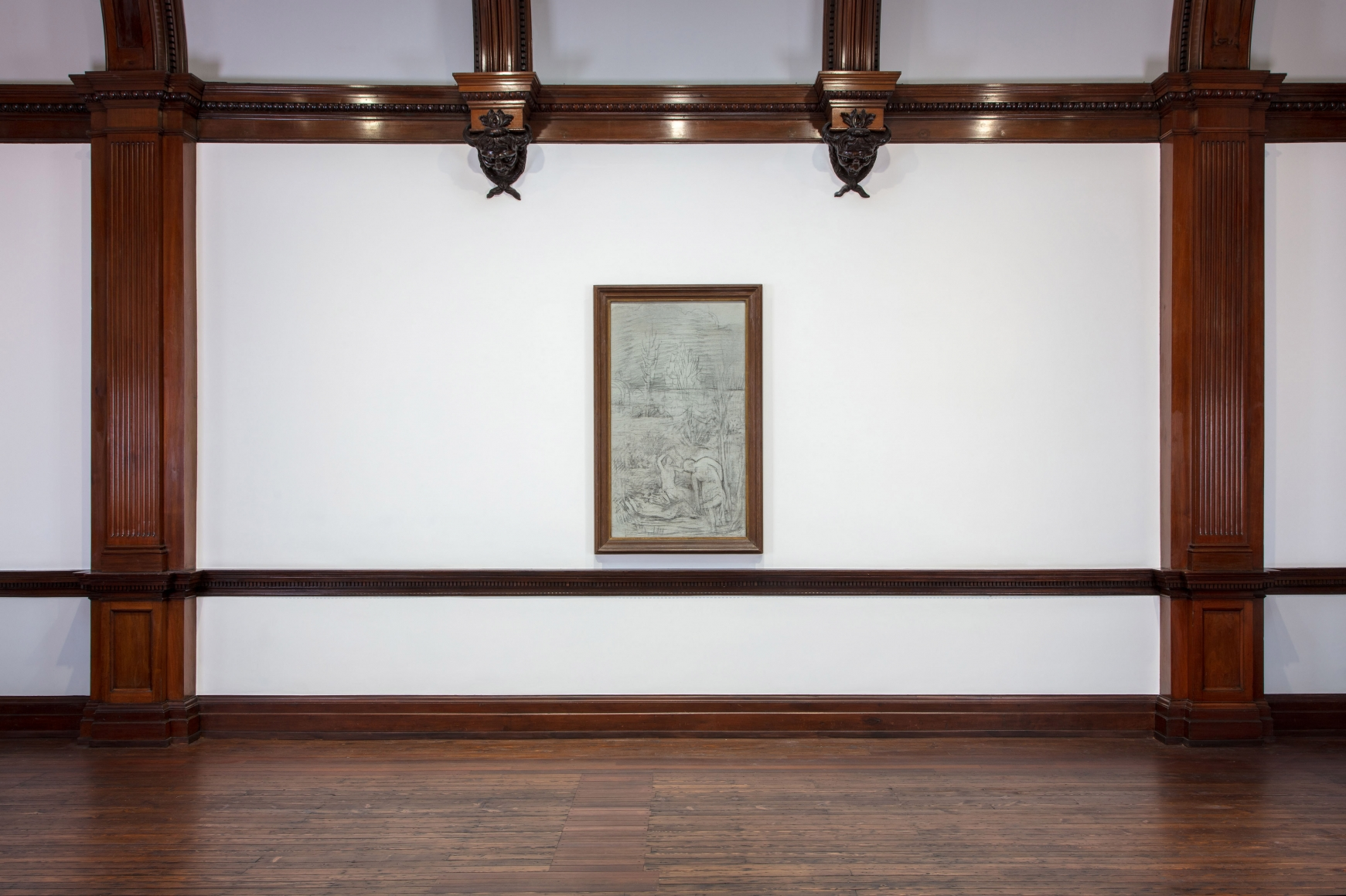 PIERRE PUVIS DE CHAVANNES, Works on Paper and Paintings, London, 2018, Installation Image 13