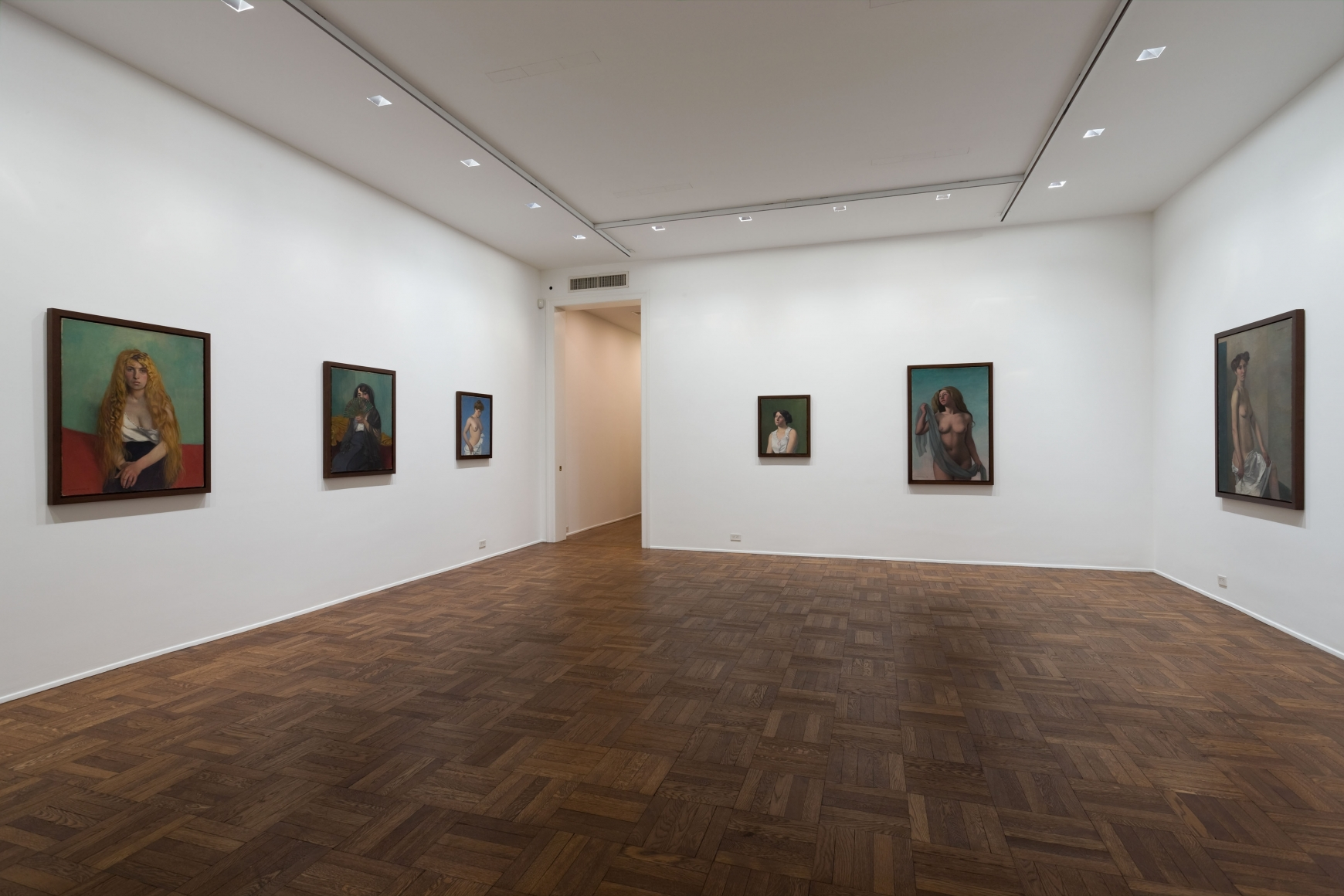 FÉLIX VALLOTTON Paintings 4 February through 10 April 2010 UPPER EAST SIDE, NEW YORK, Installation View 2