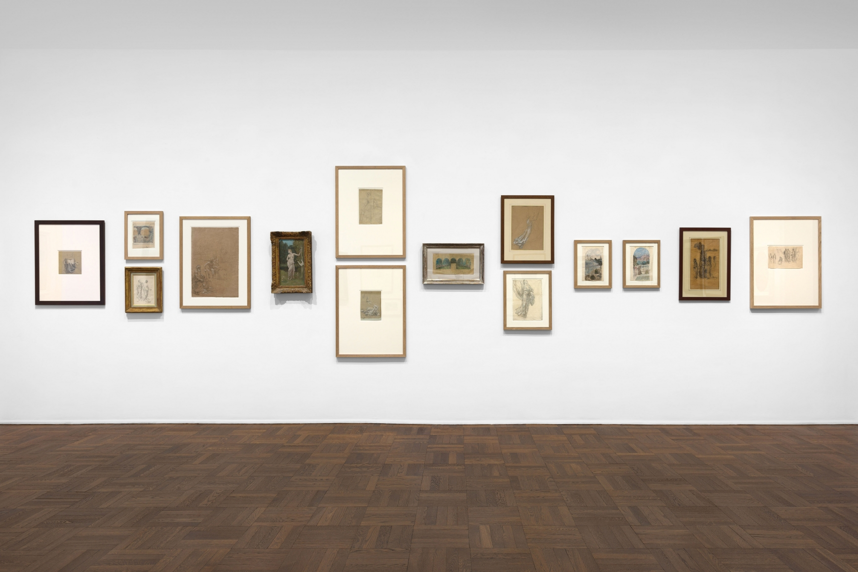 PIERRE PUVIS DE CHAVANNES, Works on Paper and Paintings, New York, 2018, Installation Image 5