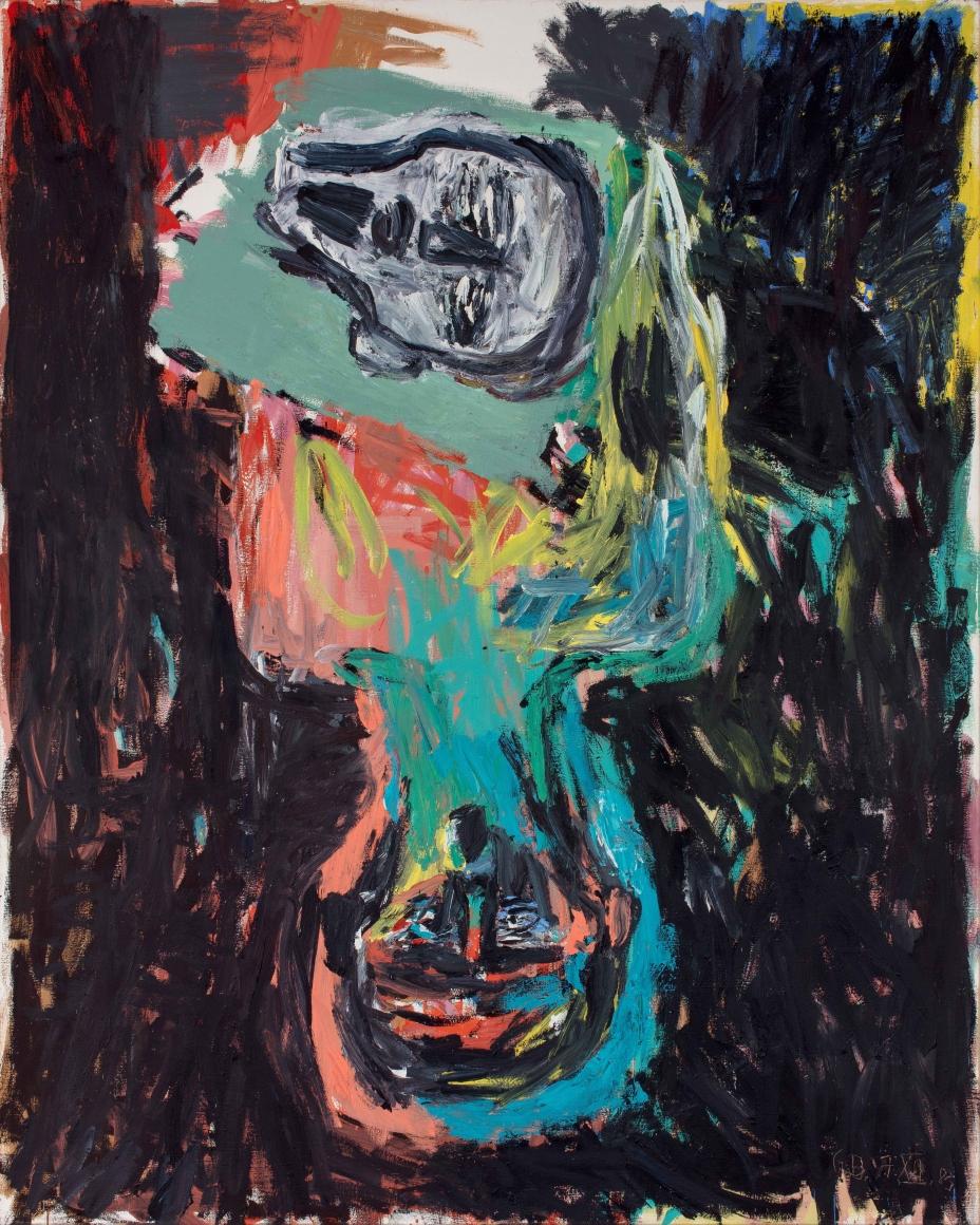 """Veronika"", 1983 Oil on canvas"