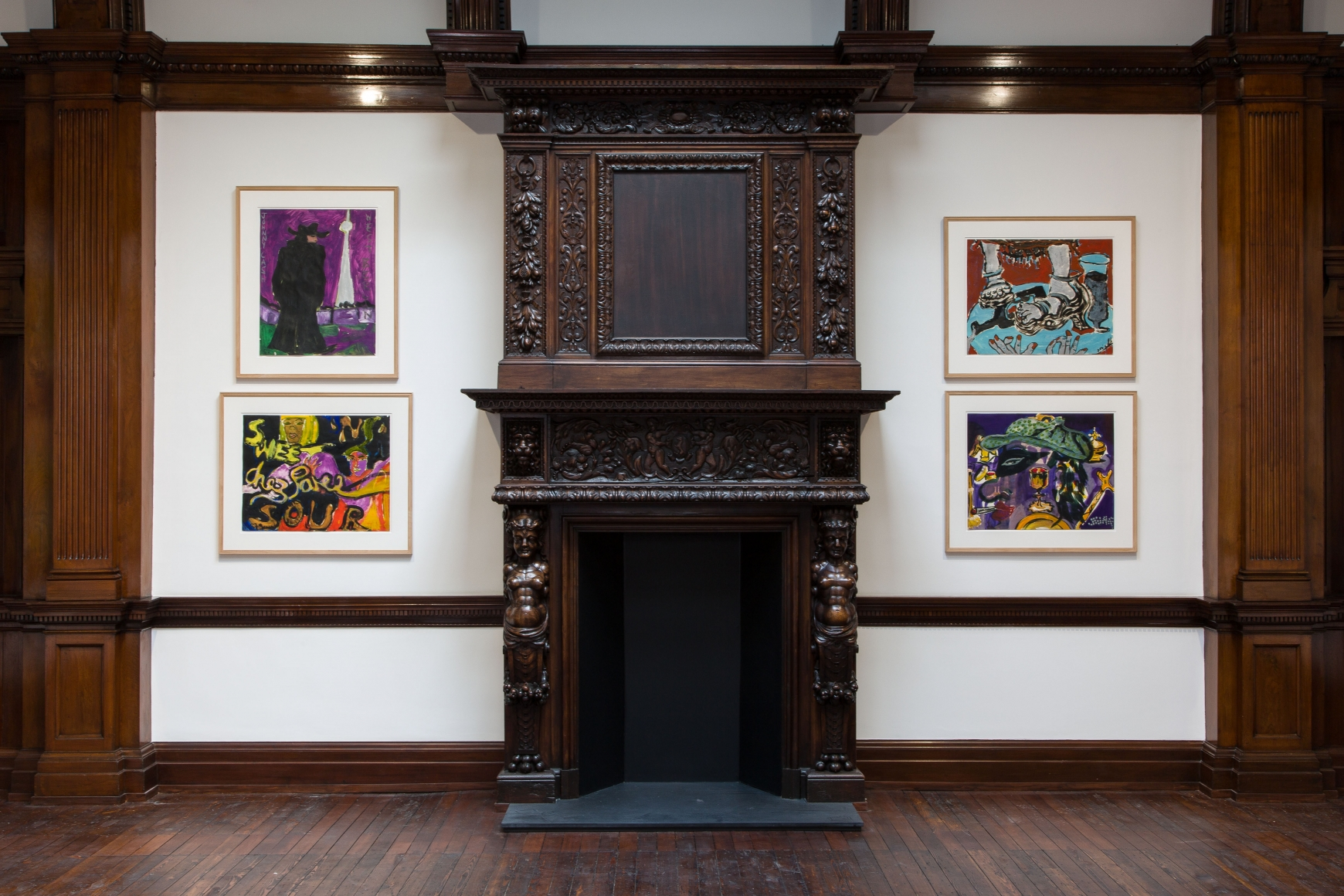 Peter Doig, Early Works, London, 2014, Installation Image 12
