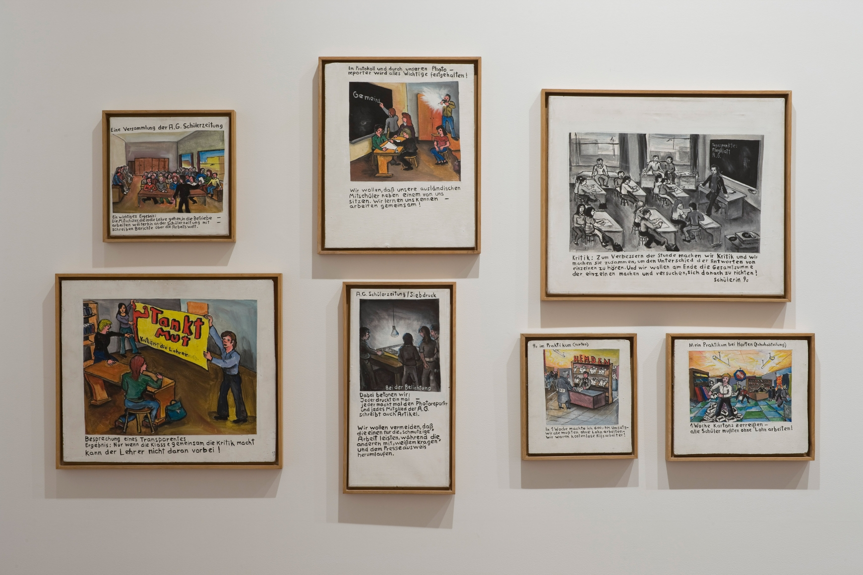 JÖRG IMMENDORFF, Maoist Paintings - The Early Seventies, 2009, Michael Werner New York Image 6
