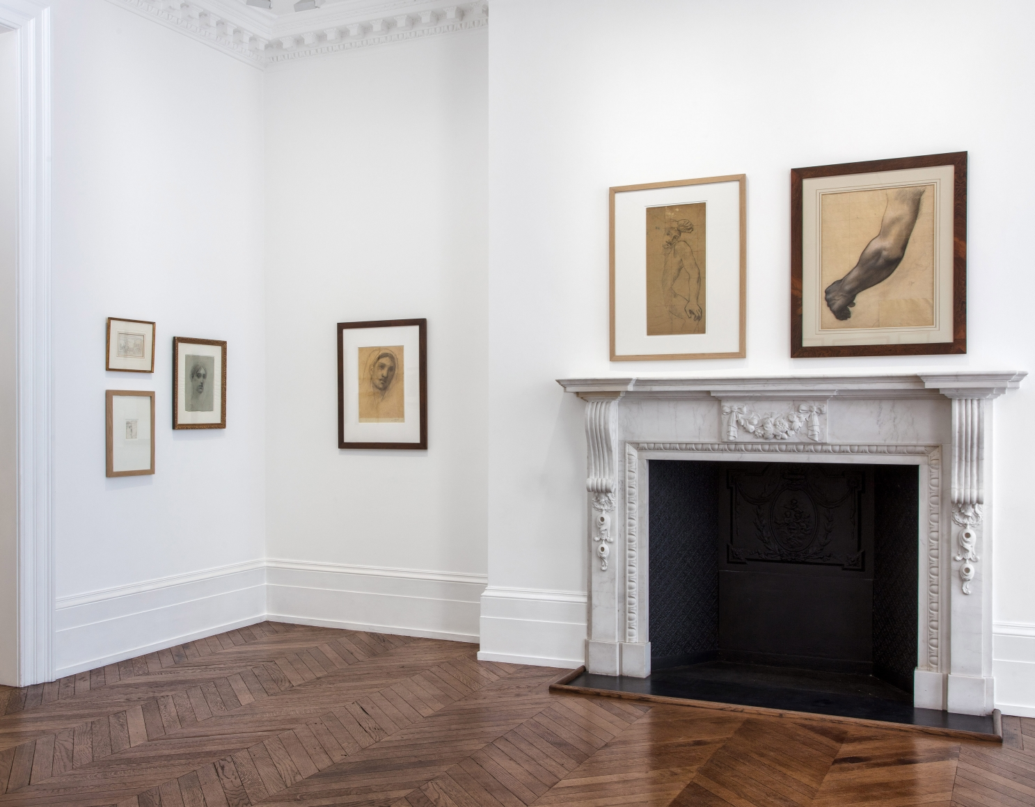 PIERRE PUVIS DE CHAVANNES, Works on Paper and Paintings, London, 2018, Installation Image 6