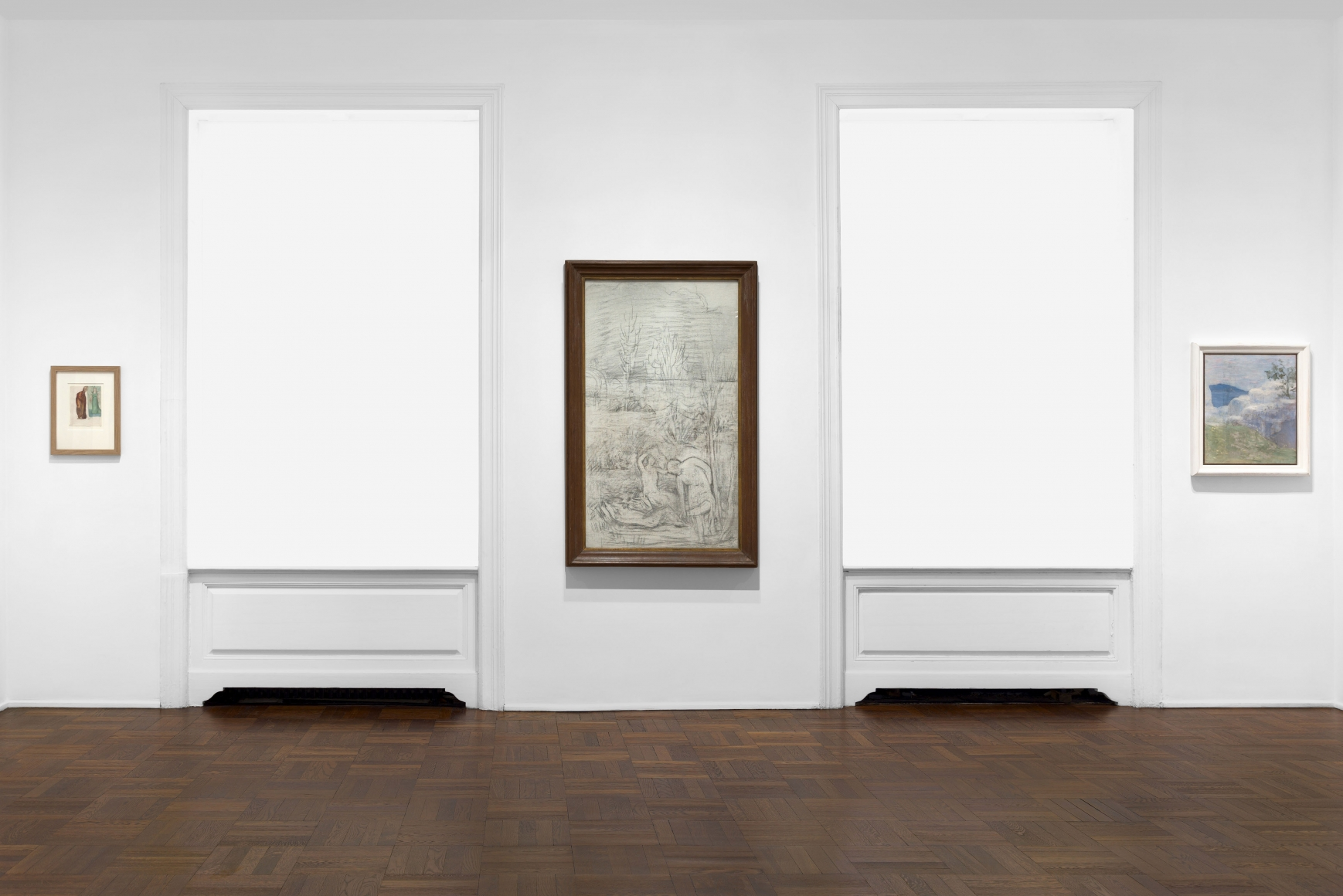 PIERRE PUVIS DE CHAVANNES, Works on Paper and Paintings, New York, 2018, Installation Image 4