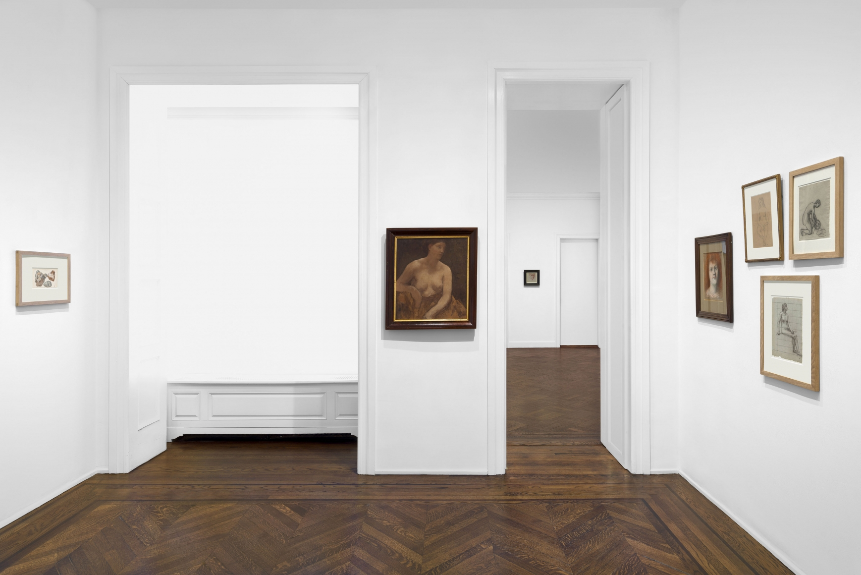 PIERRE PUVIS DE CHAVANNES, Works on Paper and Paintings, New York, 2018, Installation Image 11