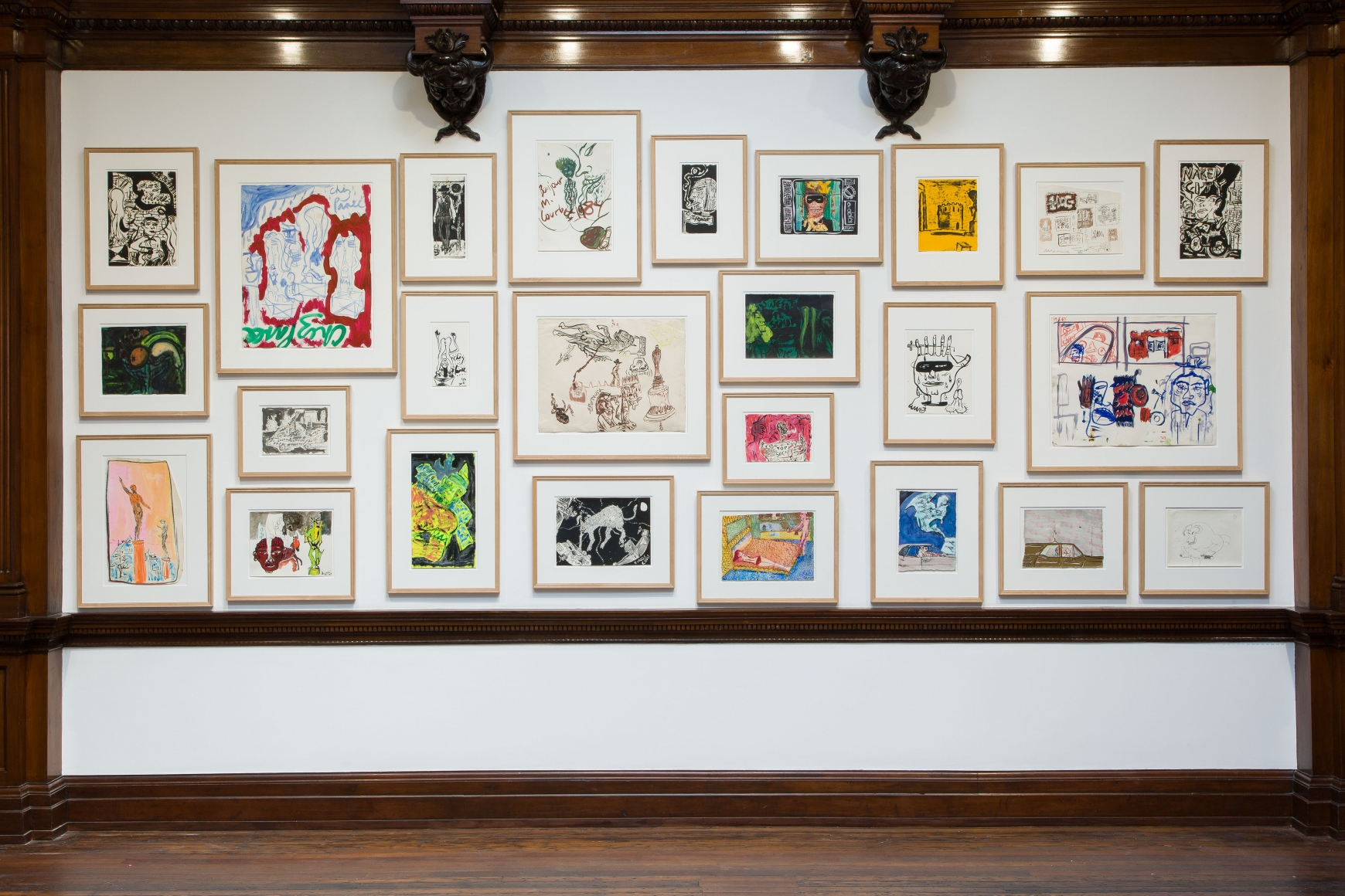 Peter Doig, Early Works, London, 2014, Installation Image 10
