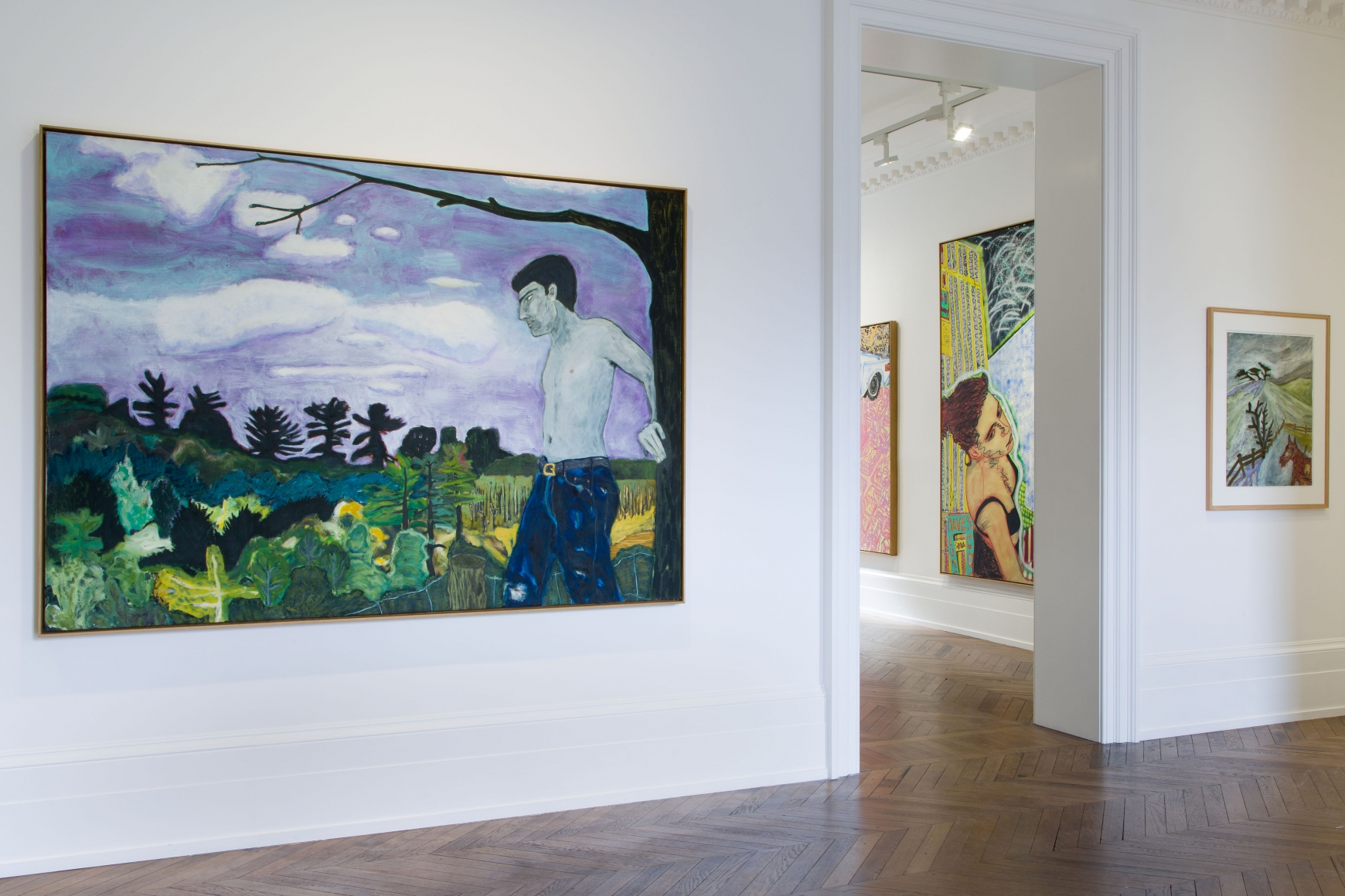 Peter Doig, Early Works, London, 2014, Installation Image 8