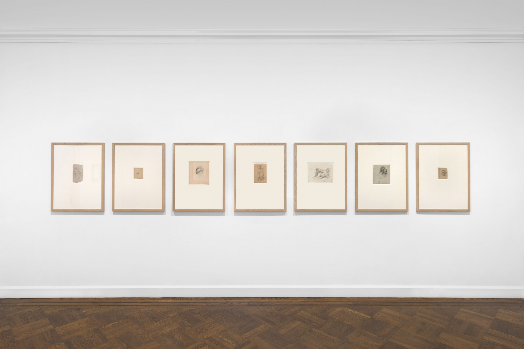 PIERRE PUVIS DE CHAVANNES, Works on Paper and Paintings, New York, 2018, Installation Image 17
