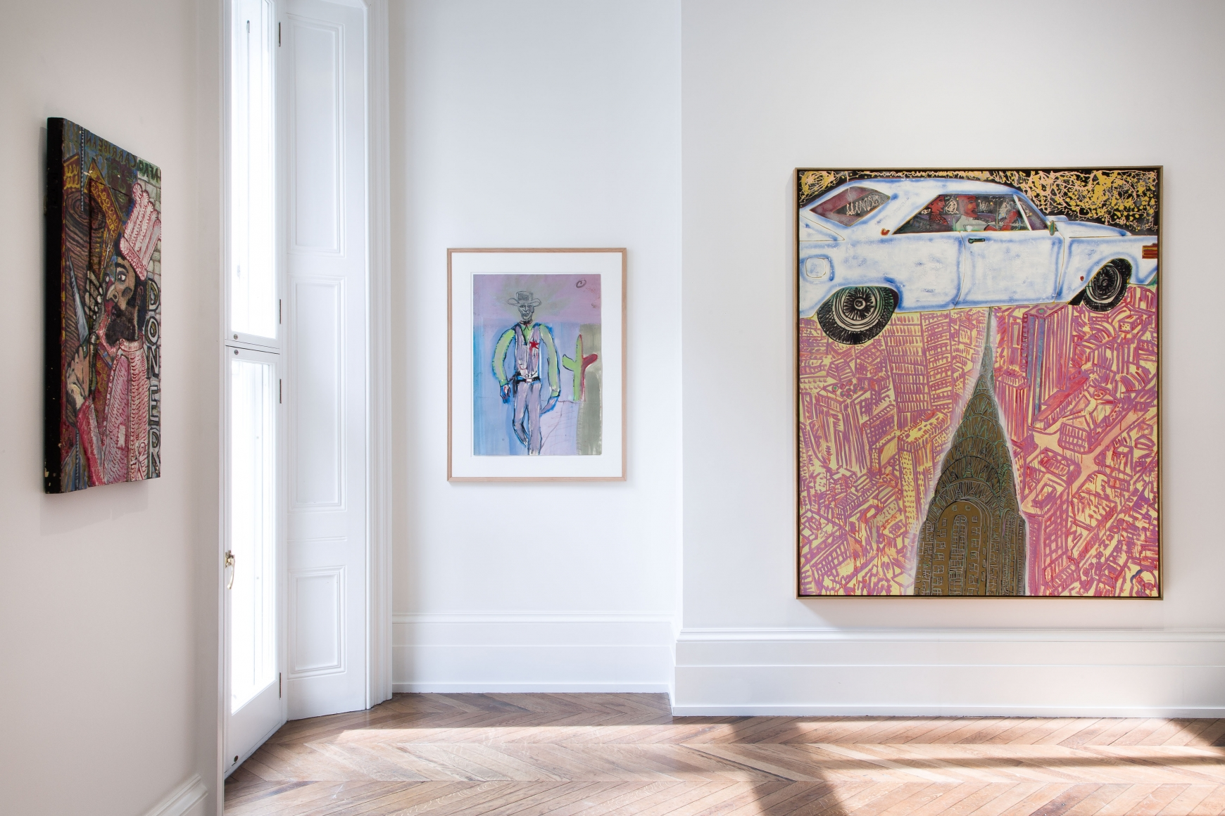 Peter Doig, Early Works, London, 2014, Installation Image 1