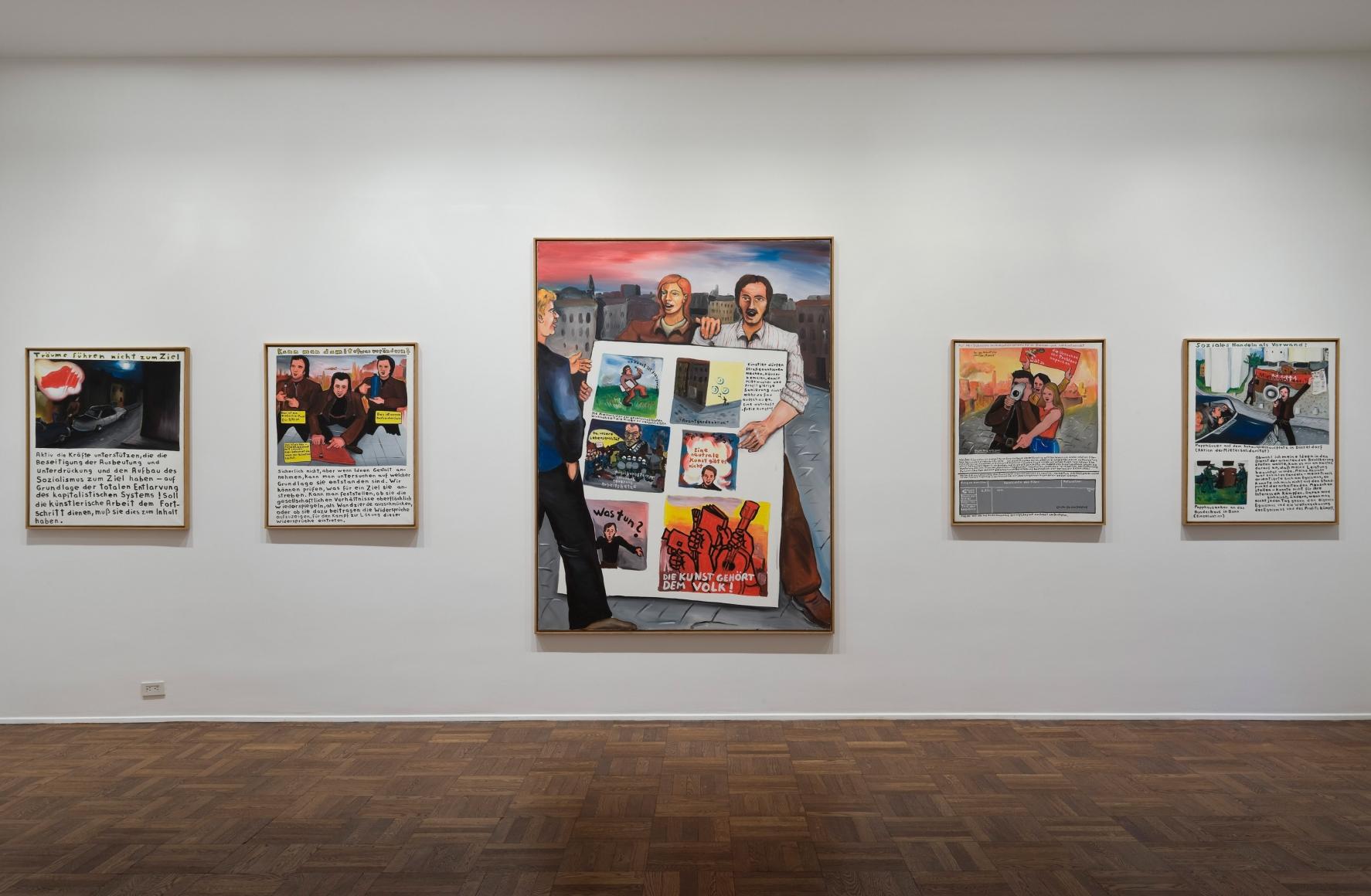 JÖRG IMMENDORFF, Maoist Paintings - The Early Seventies, 2009, Michael Werner New York Image 3