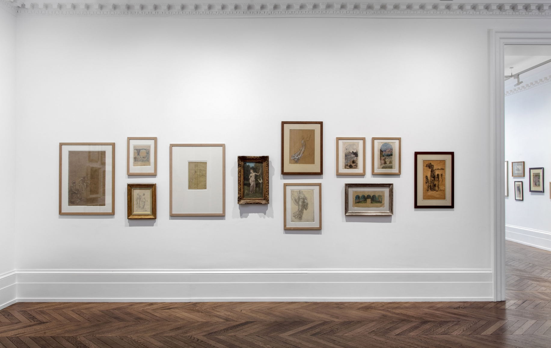 PIERRE PUVIS DE CHAVANNES, Works on Paper and Paintings, London, 2018, Installation Image 12