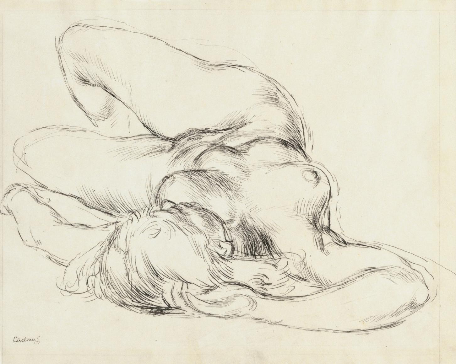 """Reclining Nude"", ca. 1933"