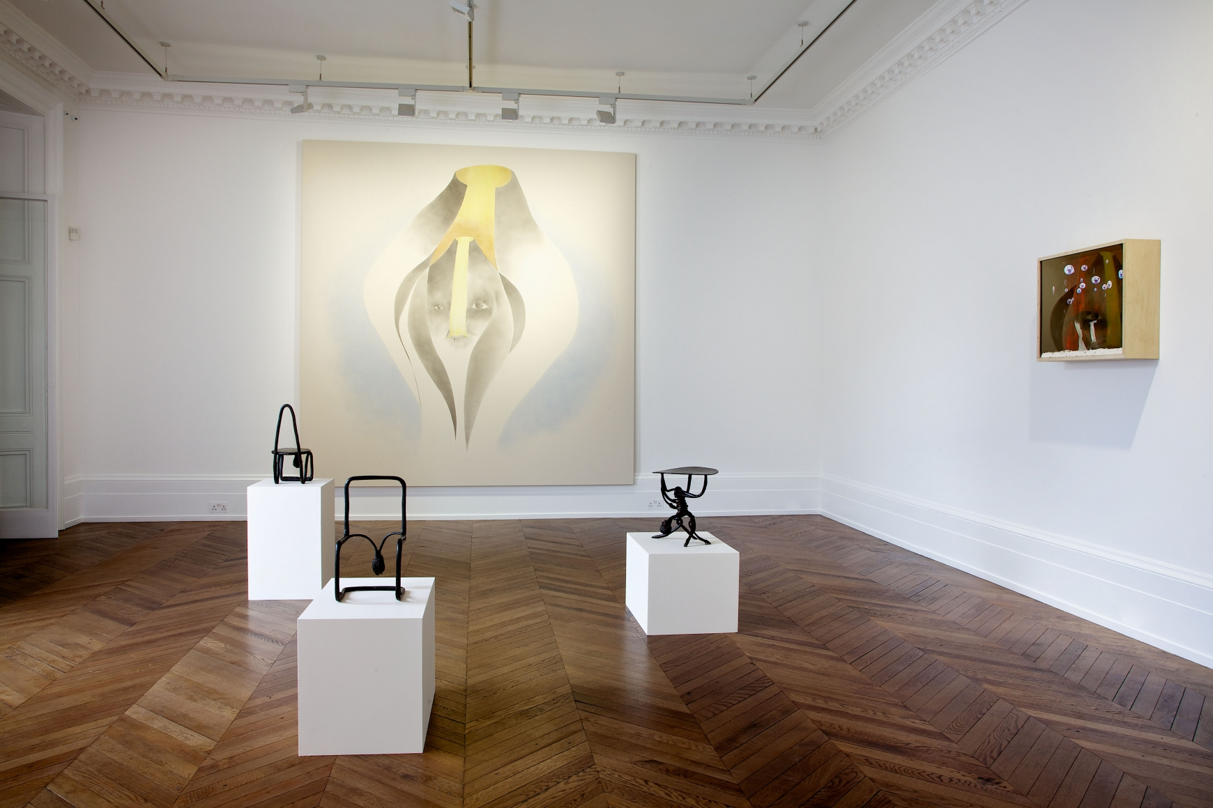 ENRICO DAVID New Works 17 September through 16 November 2013 MAYFAIR, LONDON, Installation View 4