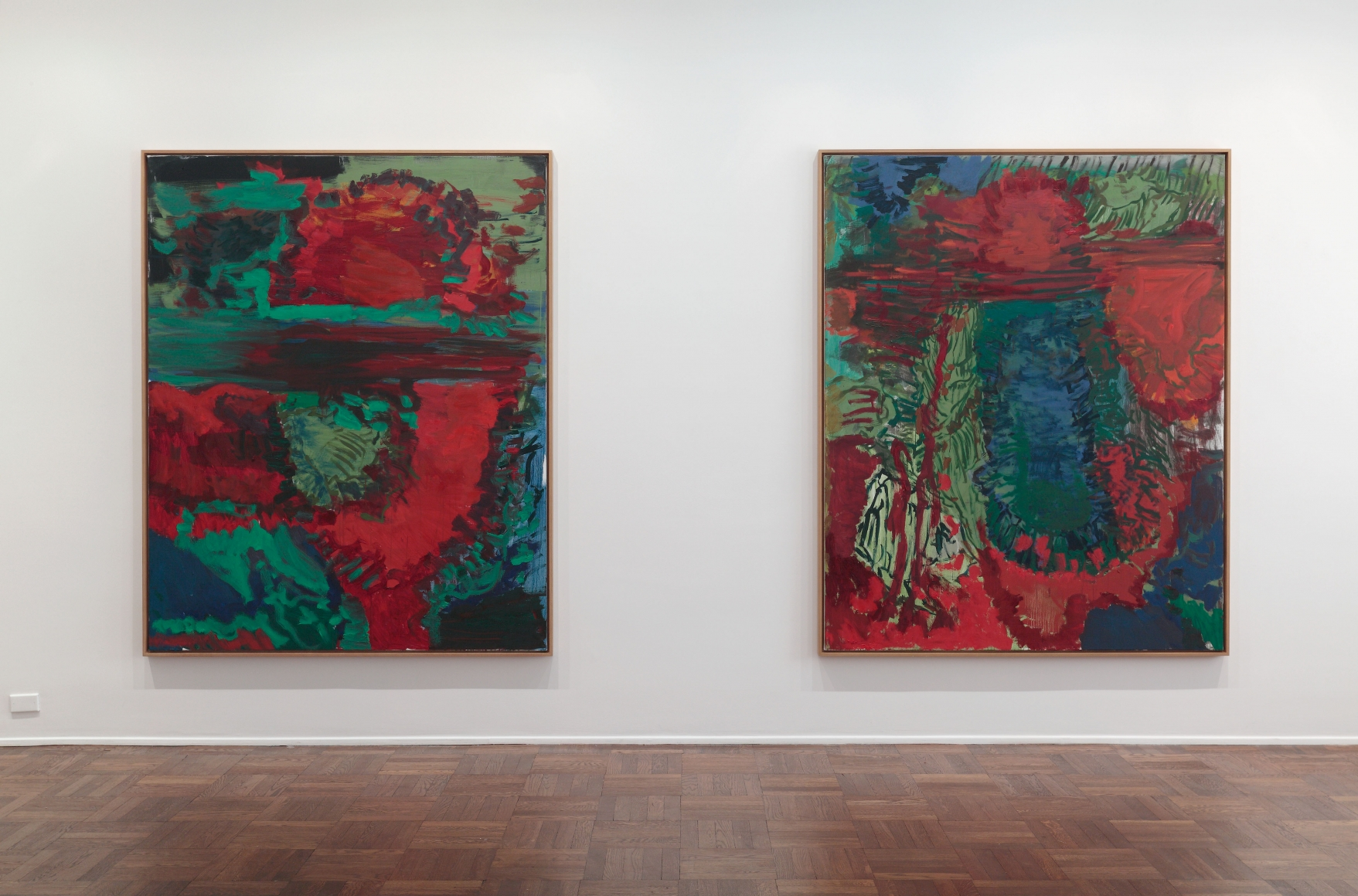 Per Kirkeby, New Paintings, New York, 2011, Installation Image 8
