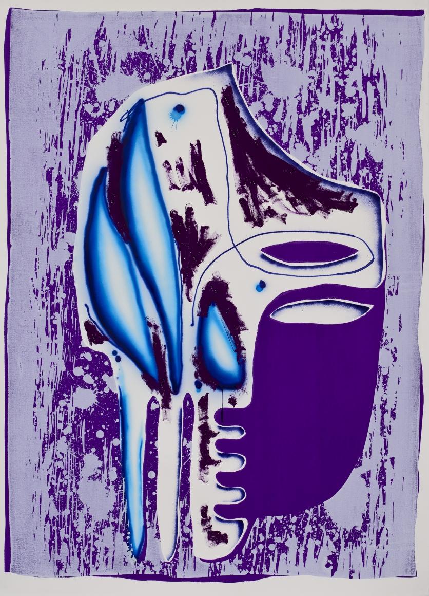"""""""Purple Mask"""", 2009"""