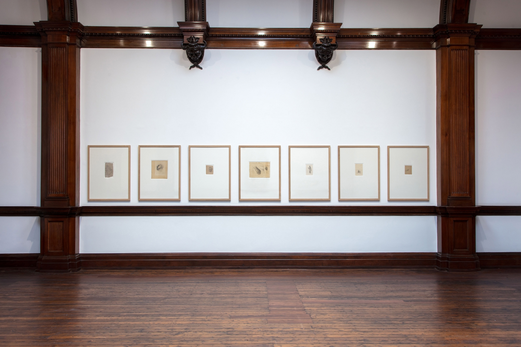 PIERRE PUVIS DE CHAVANNES, Works on Paper and Paintings, London, 2018, Installation Image 15