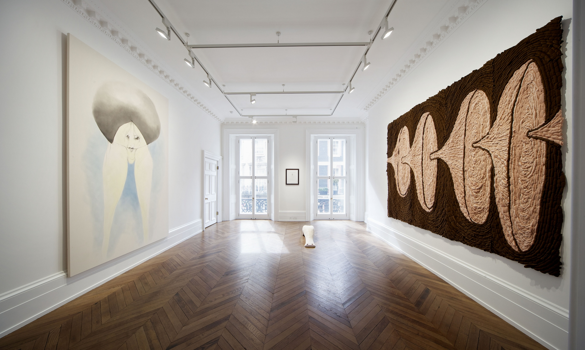 ENRICO DAVID New Works 17 September through 16 November 2013 MAYFAIR, LONDON, Installation View 1
