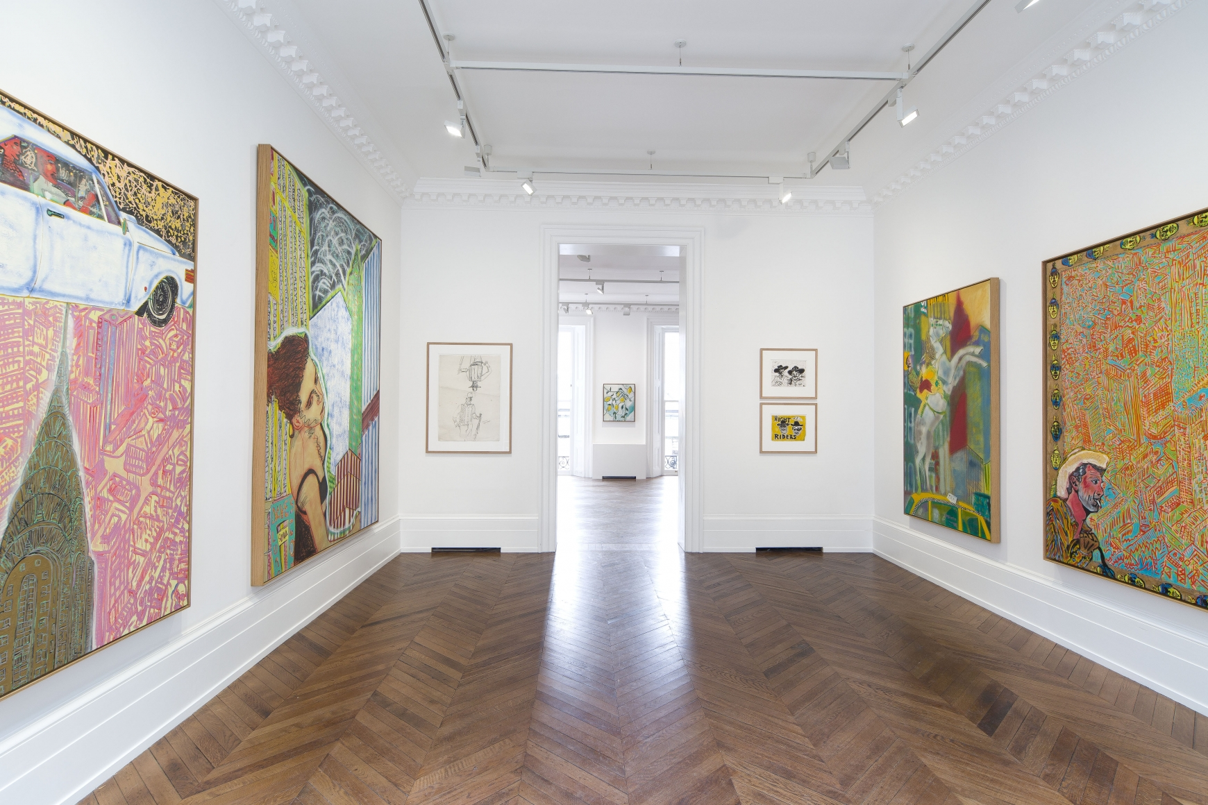 Peter Doig, Early Works, London, 2014, Installation Image 3