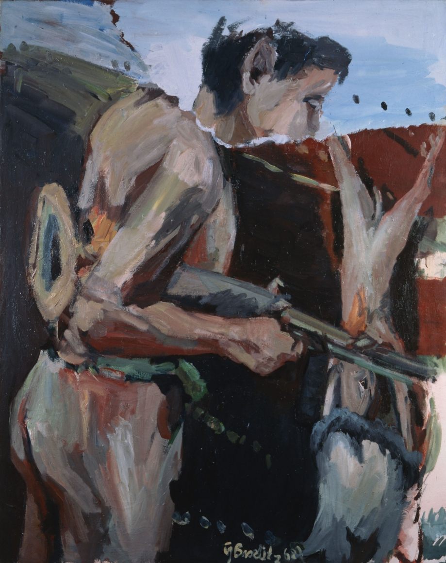 """""""Ein Jäger (A Hunter)"""", 1968"""