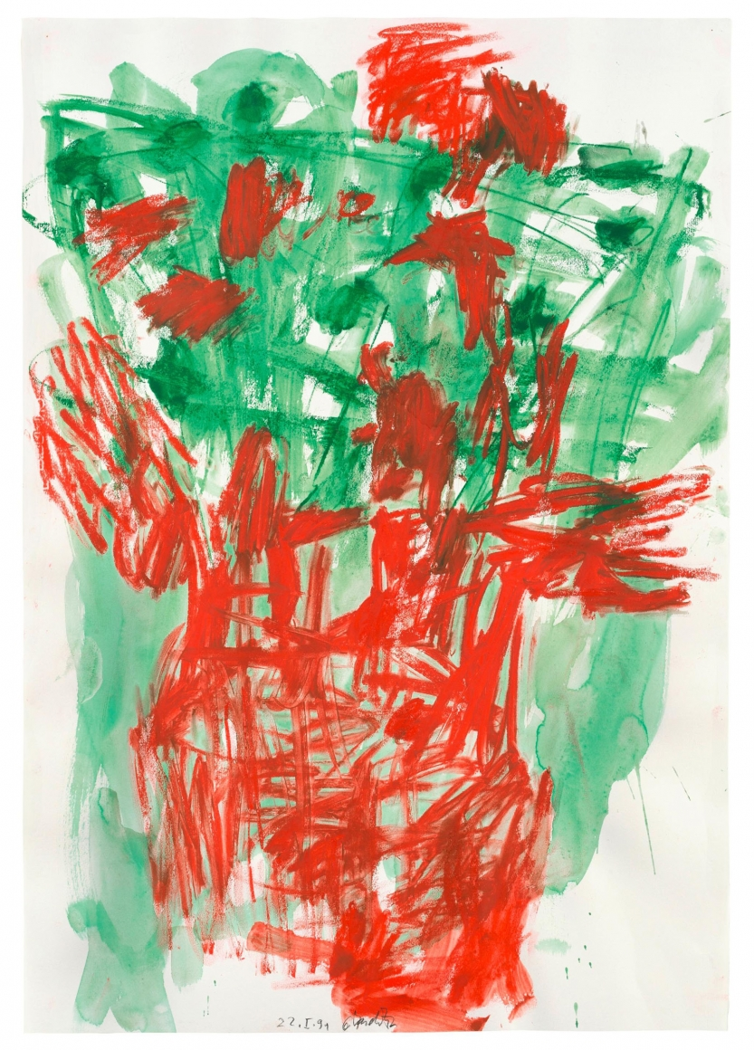 """""""Untitled"""", 1991 Gouache, pastel on paper"""