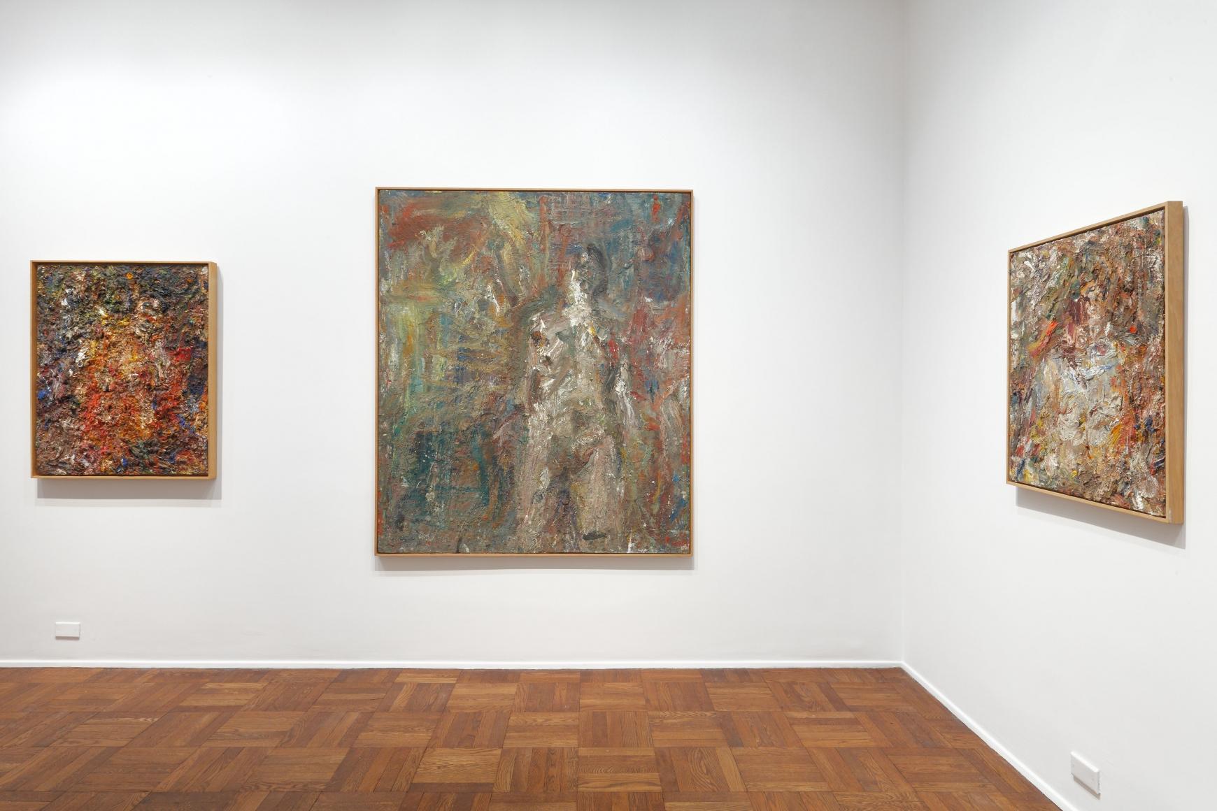 EUGÈNE LEROY, Nudes, New York, 2012, Installation Image 4
