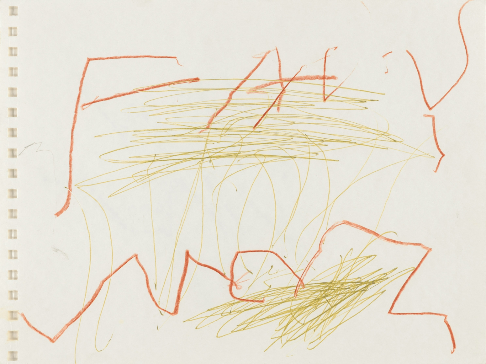"""""""Untitled"""", 1999 Colored pencil, pen on paper"""