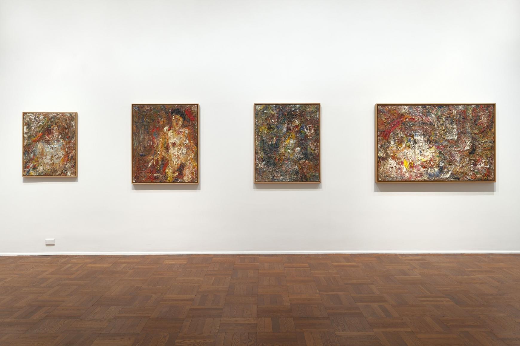 EUGÈNE LEROY, Nudes, New York, 2012, Installation Image 7