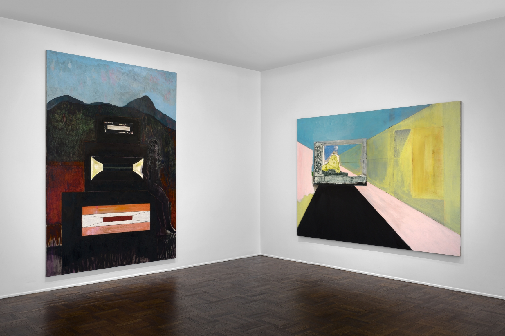Peter Doig, New York, 2015, Installation Image 2