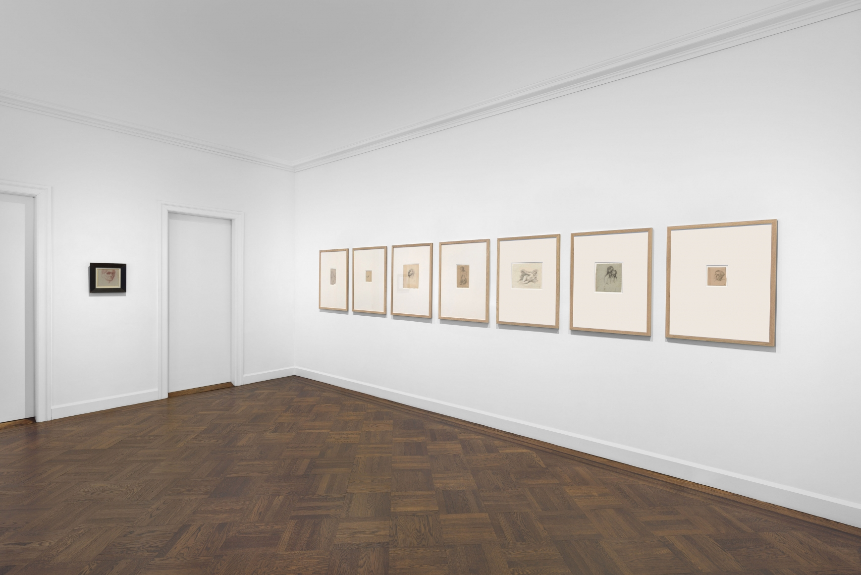 PIERRE PUVIS DE CHAVANNES, Works on Paper and Paintings, New York, 2018, Installation Image 16