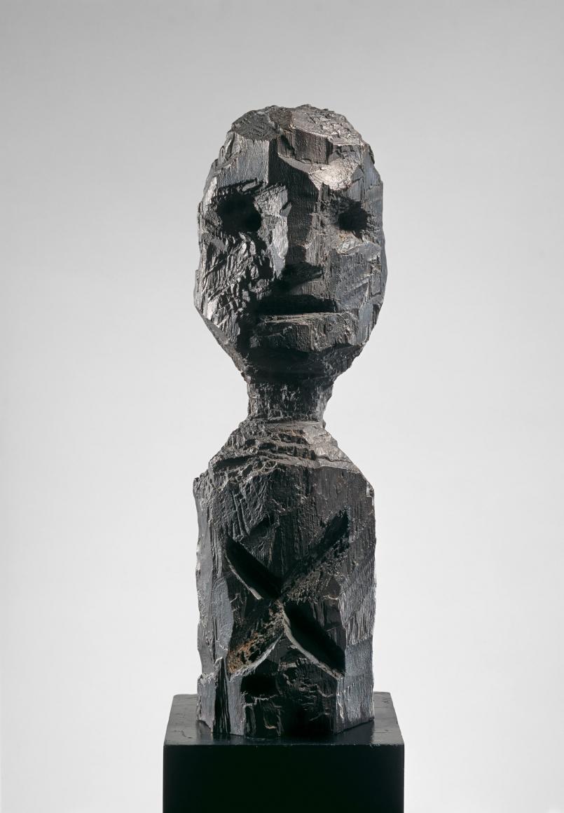 """A.R. Penck """"Selbstkopf I (Self-Head I)"""", 1984"""