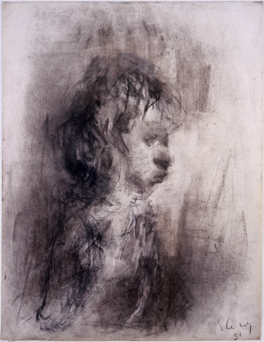 "Eugène Leroy, ""Untitled"", 1991"