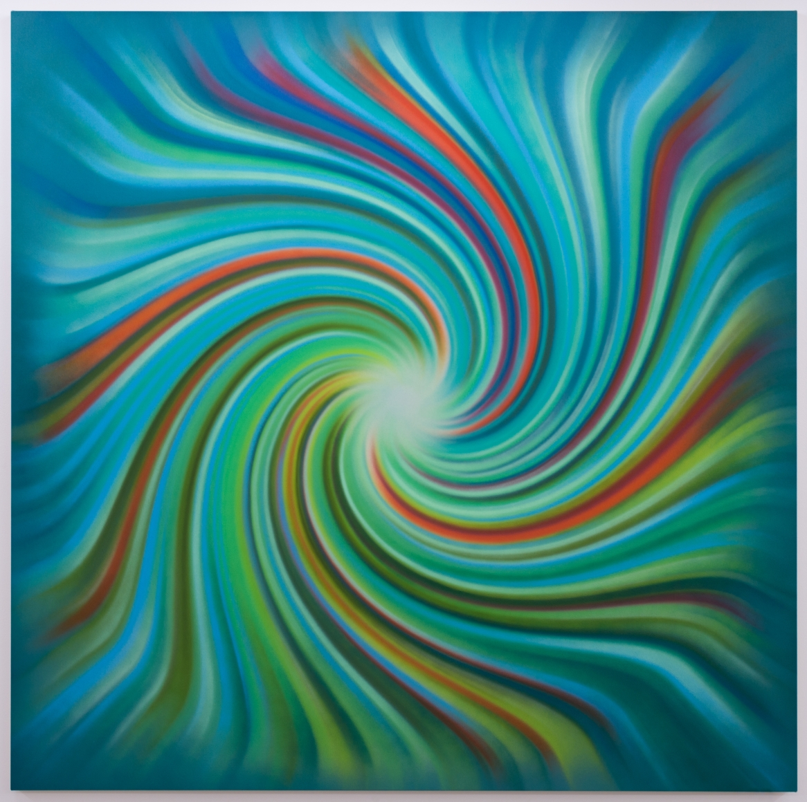 Experienced (Spiral), 2014, Synthetic polymer on canvas