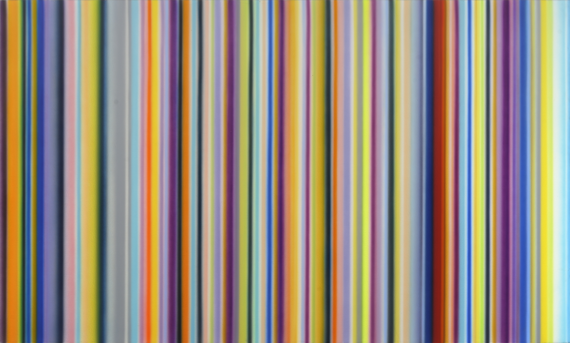 Not By Chance Alone, 1998, Synthetic polymer on canvas