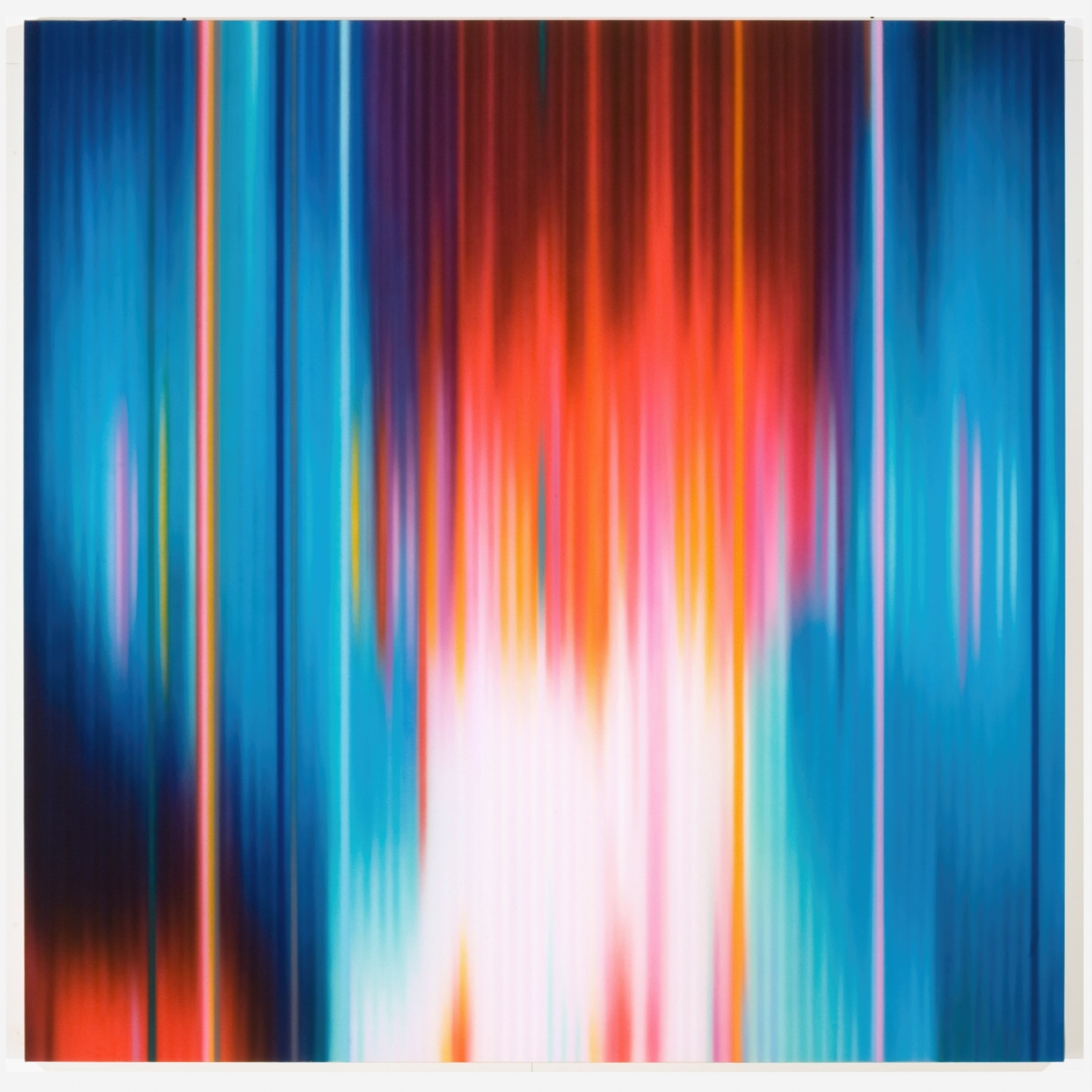 Afterglow,2010, Synthetic polymer on canvas